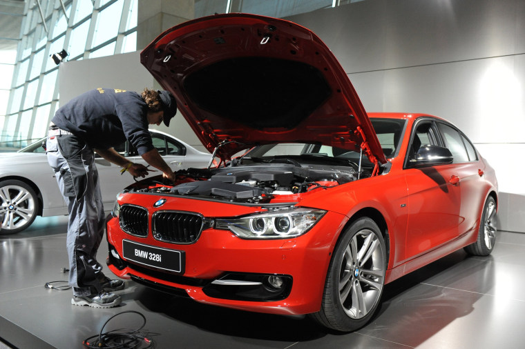 Image: FILES-GERMANY-BMW-AUTOMOBILE-RECALL