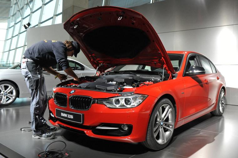 Image: FILES-GERMANY-BMW-AUTOMOBILE-RECALL