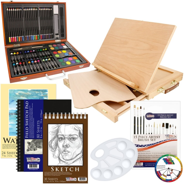 82 Piece Art Set