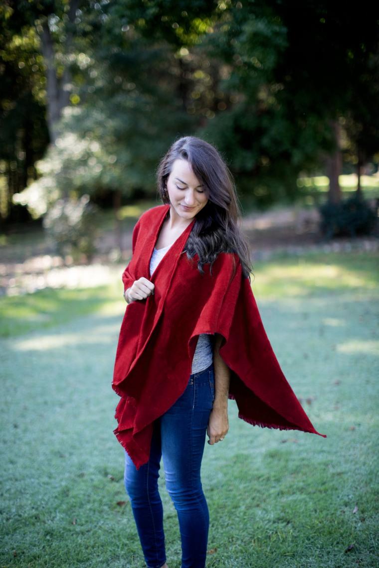 AprilMarin Blanket Wrap