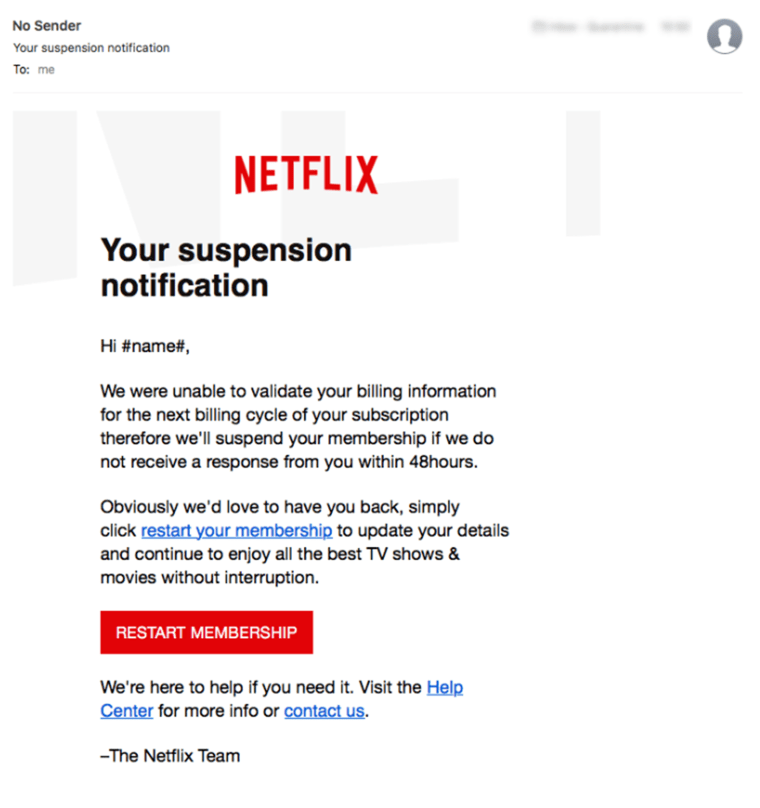 Netflix users beware: New scam aims to steal your CC info
