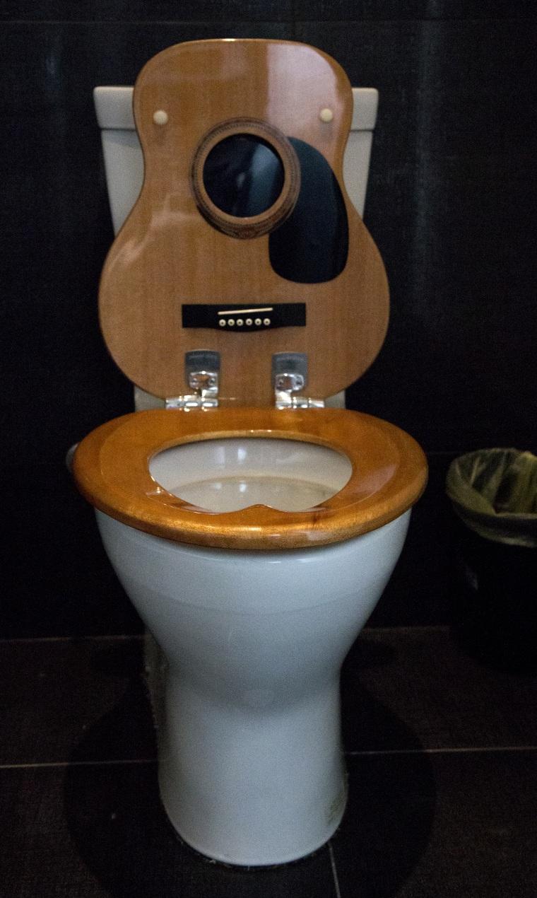 John Rich's Nashville home includes guitar-shaped toilet lids
