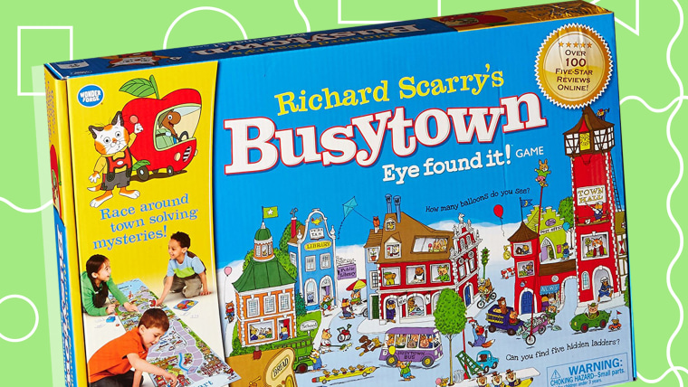 Busy Town of Richard Scary