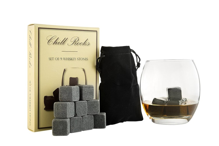 Quissen whiskey stones gift set