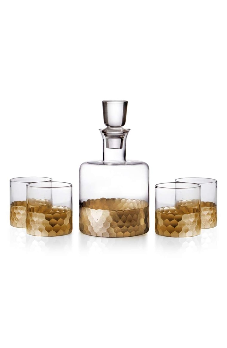 'Daphne' Decanter & Whiskey Glasses