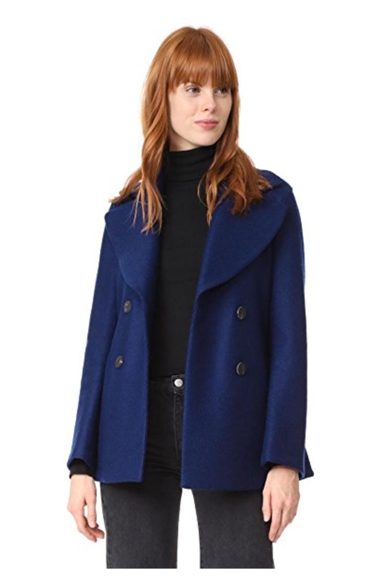 Indigo coat
