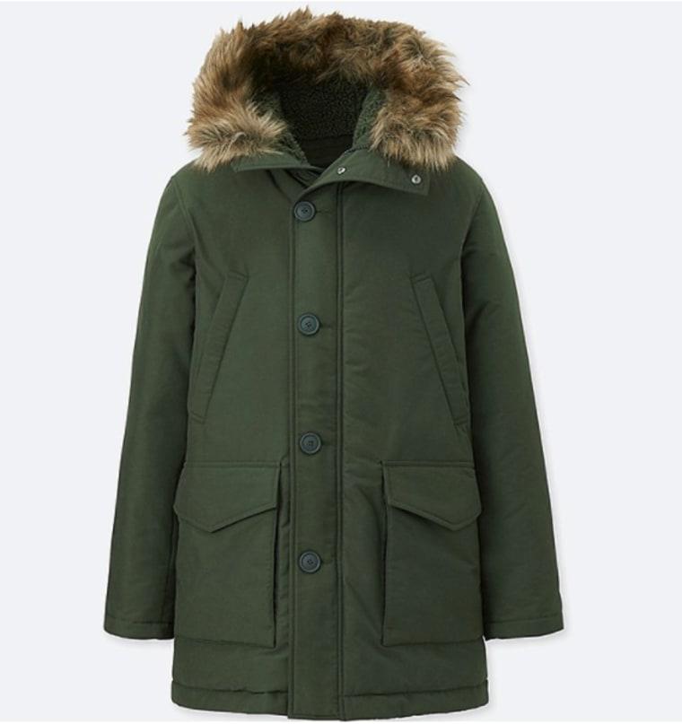 Uniqlo men's coat
