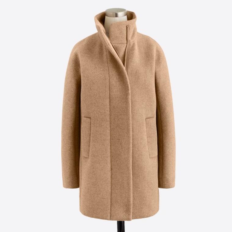 Jcrew tan jacket