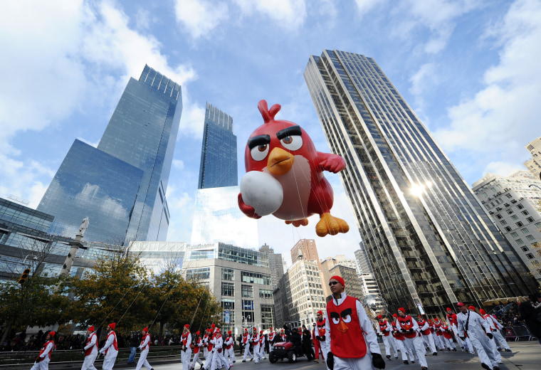 Angry Birds Movie Red In Macy's Thanksgiving Day Parade