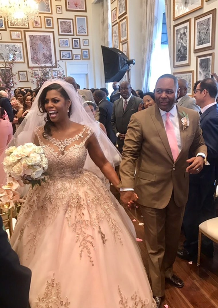 Omarosa Manigault marries husband John Allen Newman.