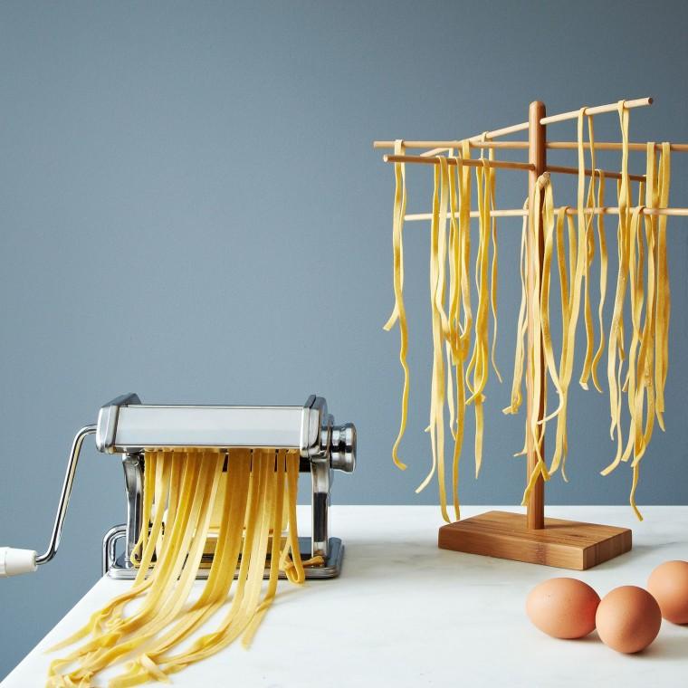 Weston Brands pasta machine and drying rack