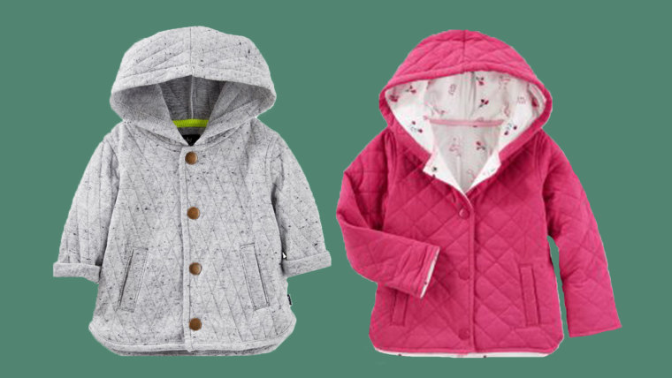 OshKosh Recalls Baby B'gosh Quilted Jacket Due to Choking Hazard