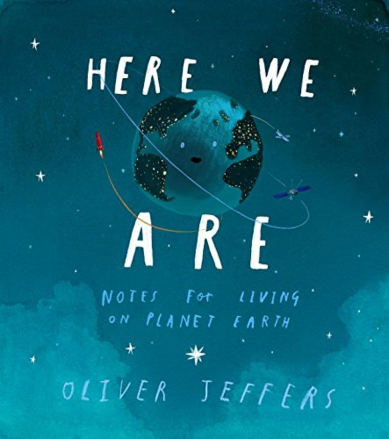 """Here We Are"" by Oliver Jeffers"