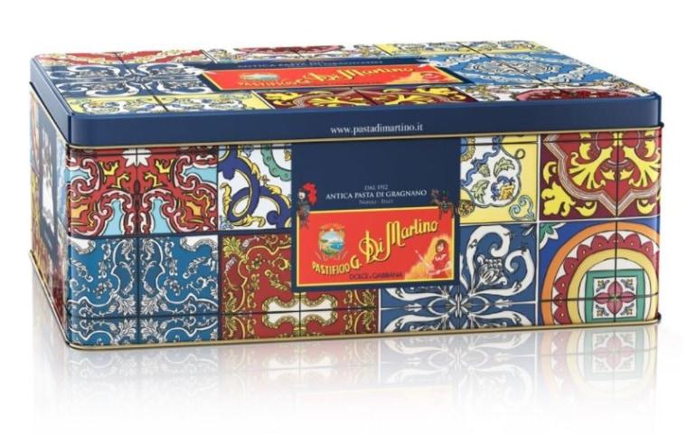 Dolce & Gabbana limited-edition pasta tins