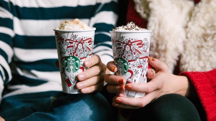 Starbucks' 2017 holiday drinks