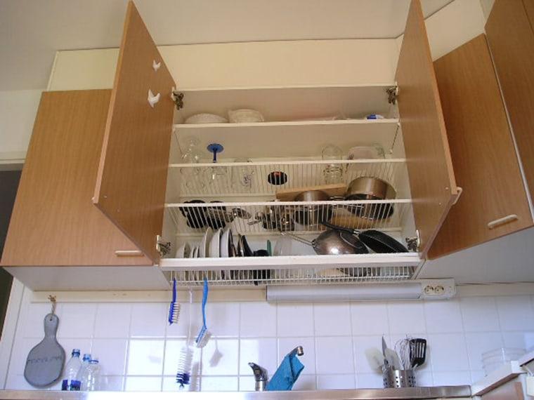 Finnish dish drying rack