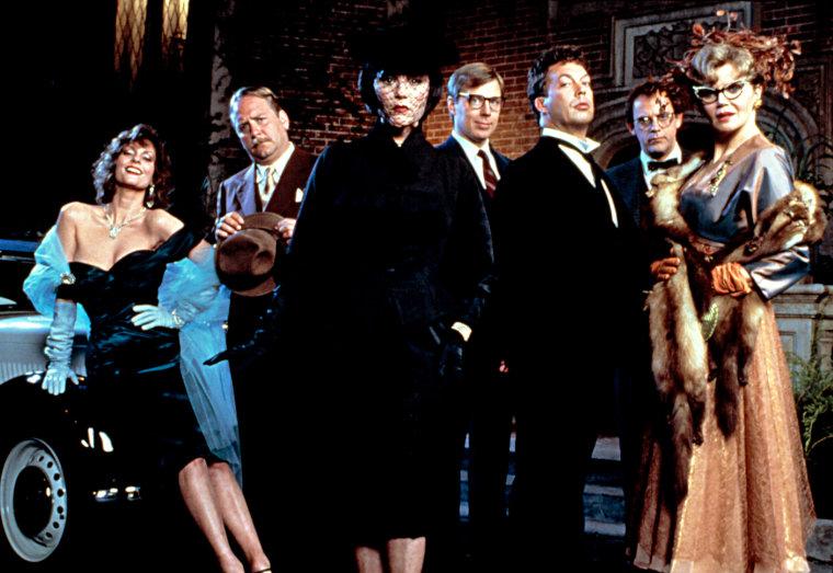 CLUE, Lesley Ann Warren, Martin Mull, Madeline Kahn, Michael McKean, Tim Curry, Christopher Lloyd, Eileen Brennan, 1985
