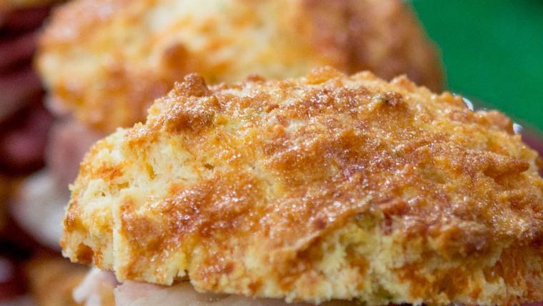 Justin Brunson's Cheddar Chive Biscuit