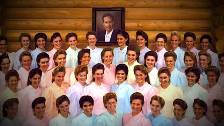 The wives of Warren Jeffs.