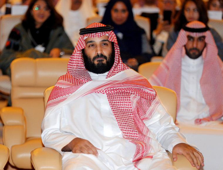 Image: Saudi Crown Prince Mohammed bin Salman