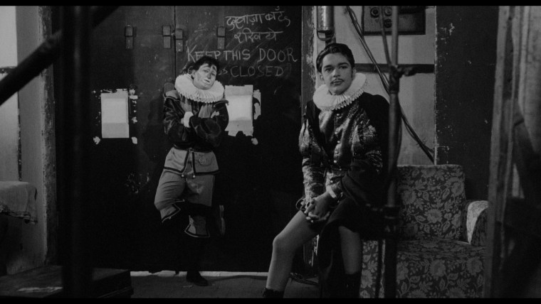"A still taken from 1965's ""Shakespeare Wallah."""