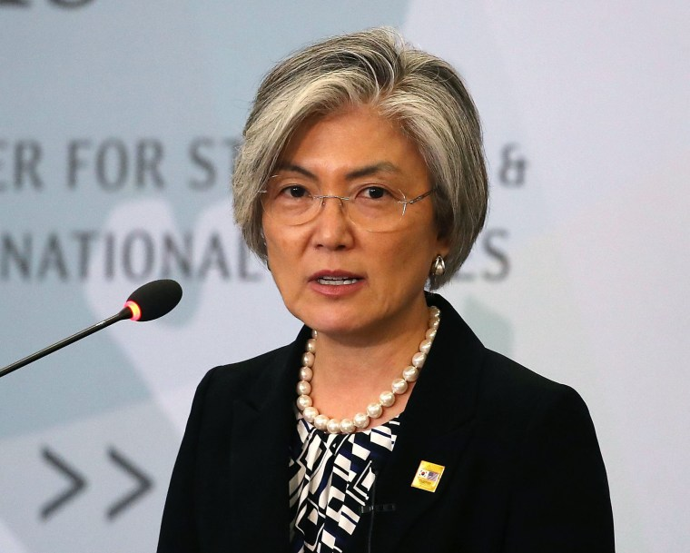 Image: South Korean Foreign Affairs Minister Kang Kyung-wha