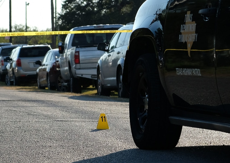 Image: Mass Shooting At Texas Church