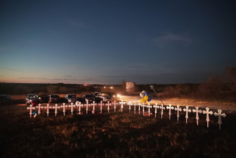 Image: Texans Mourn Sutherland Springs Victims
