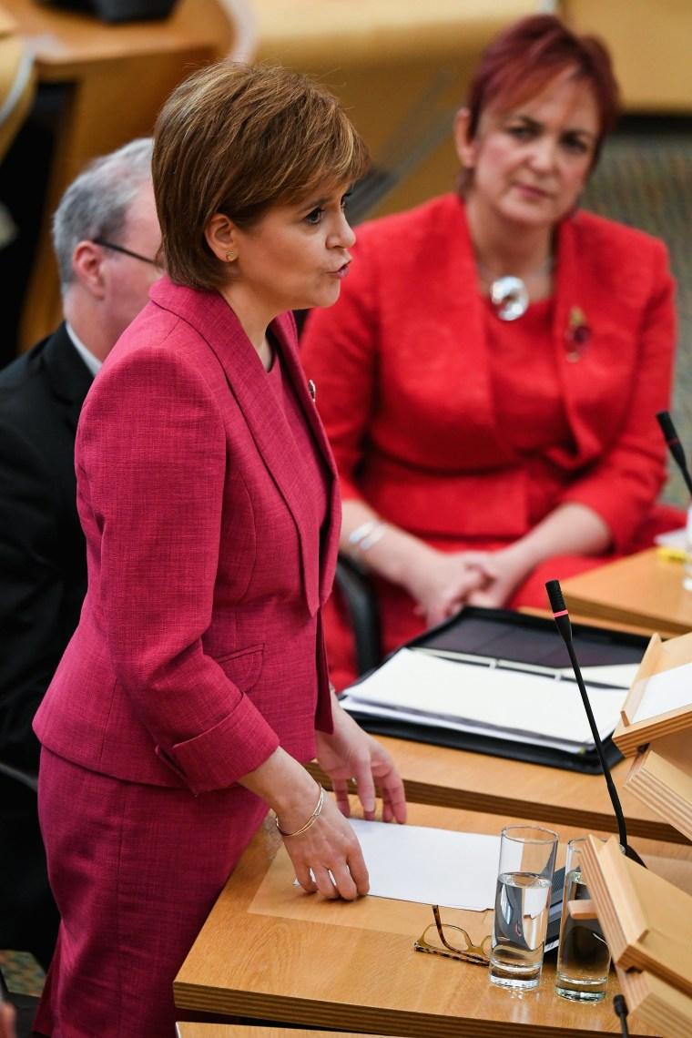 Image: Nicola Sturgeon Apologises Over Historical Gay Sex Convictions