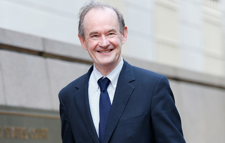Image: Attorney David Boies walks to the U.S. Court of Federal Claims