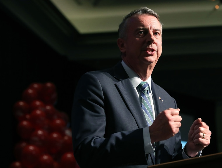 Image: Virginia GOP gubernatorial candidate Ed Gillespie Holds Election Night Event