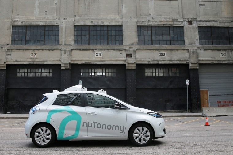 Image: A Self-Driving Car Being Developed By nuTonomy