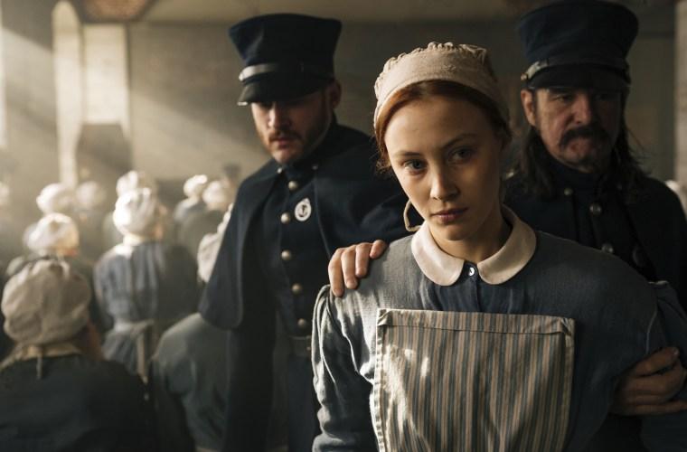 Image: Sarah Gadon in Netflix's Alias Grace