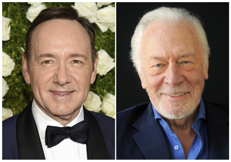 Image: Kevin Spacey; Christopher Plummer
