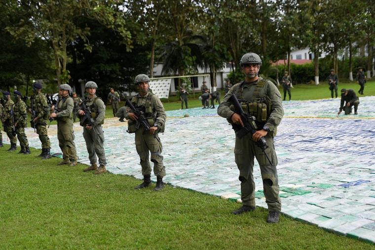 12 Tons of Cocaine Seized in Biggest Drug Bust in Colombia's History
