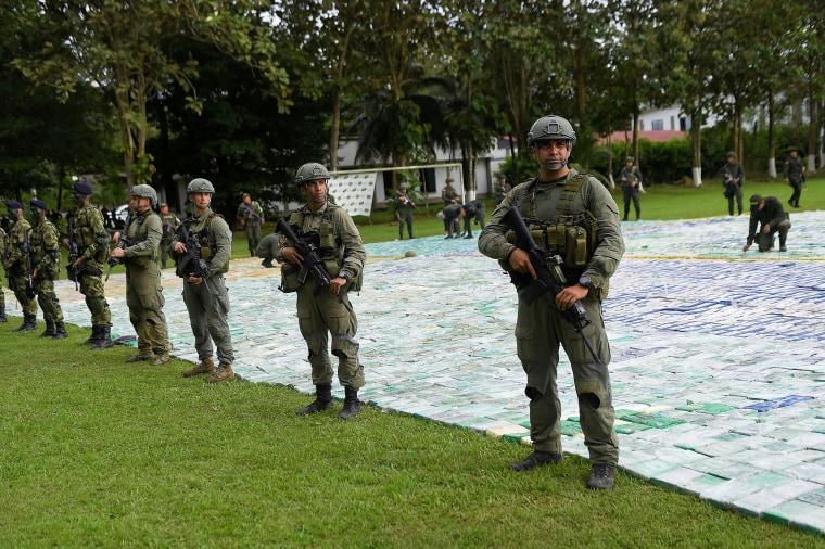 Image: Seized Cocaine in Apartado, Colombia