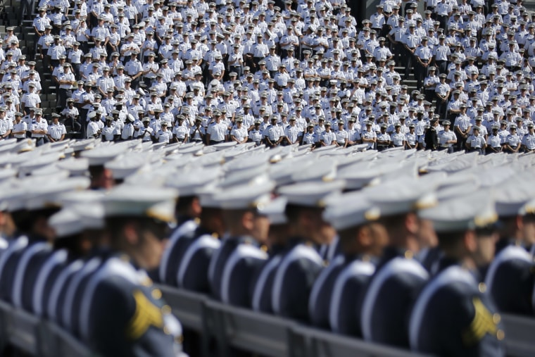 Image: Commencement Ceremony Held At U.S. Military Academy At West Point