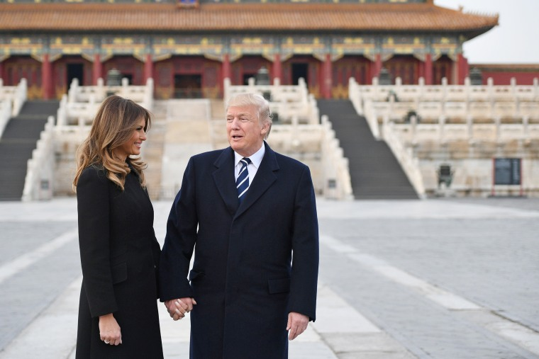 Image: Trump in China
