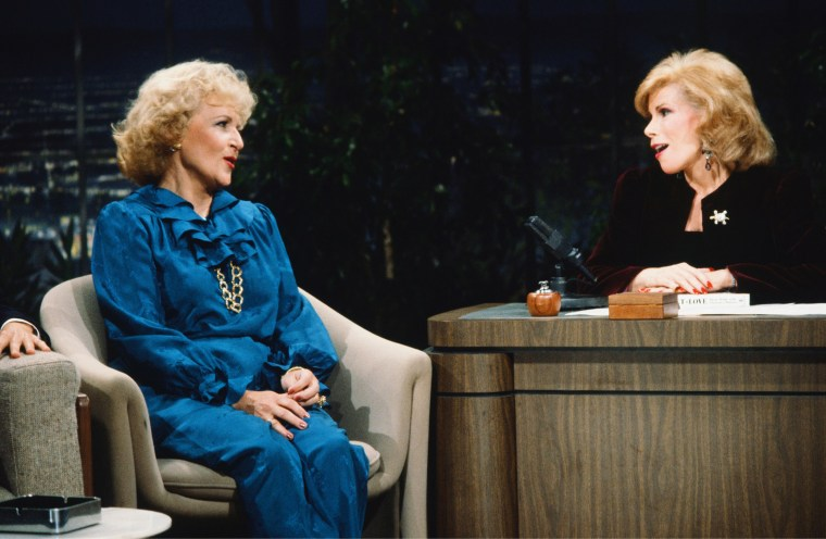 Image: Joan Rivers and Betty WHite