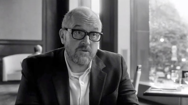 "Louis C.K. in the trailer for ""I Love You, Daddy"""