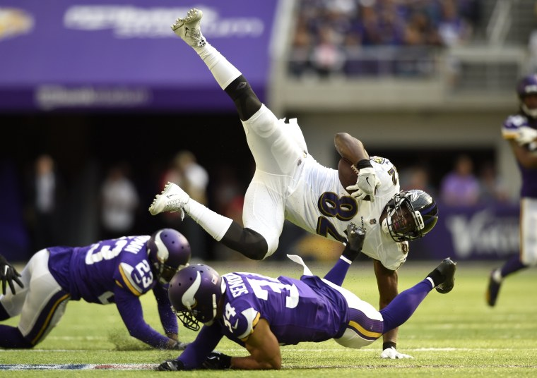 Image: Baltimore Ravens v Minnesota Vikings