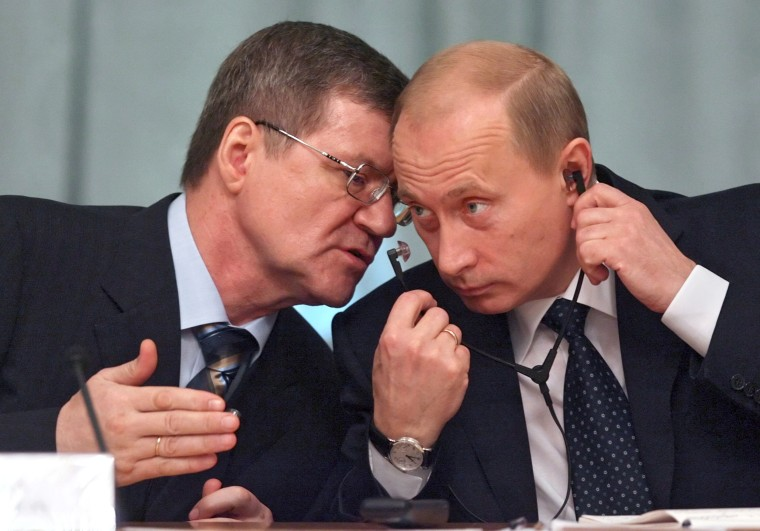Image: Yuri Chaika, Vladimir Putin