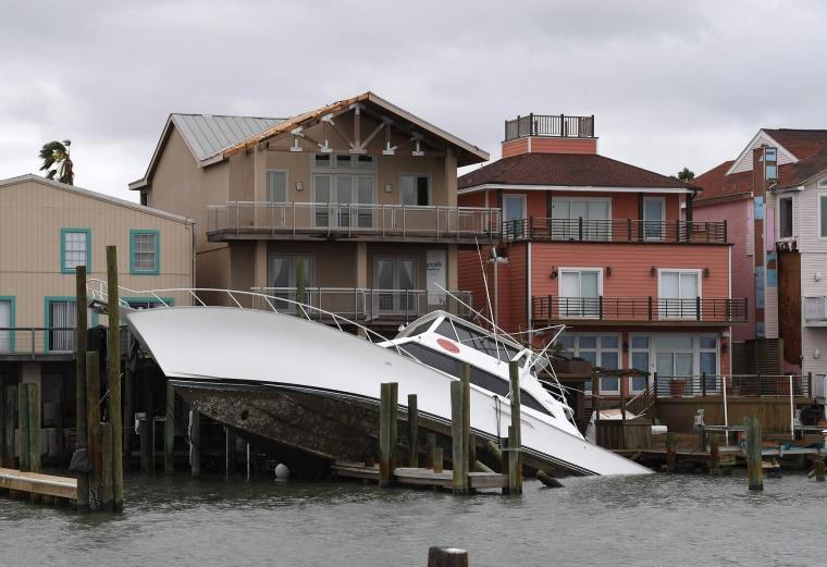 Image: Harvey Storm Damage