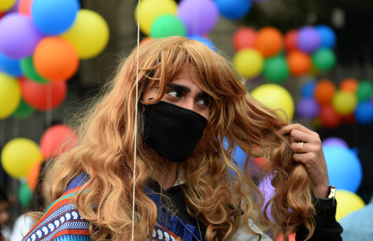 Image: INDIA-CULTURE-GAY-PARADE