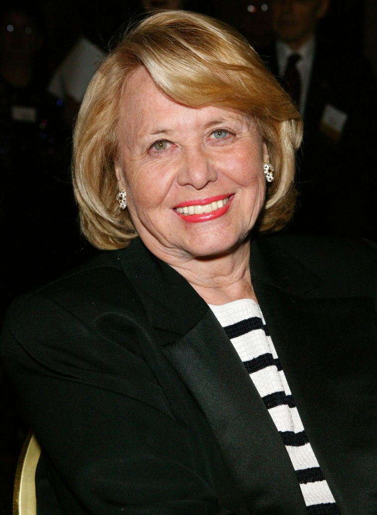 Image: Columnist Liz Smith attends the Mystery Writers of America 57th Annual Edgar Awards