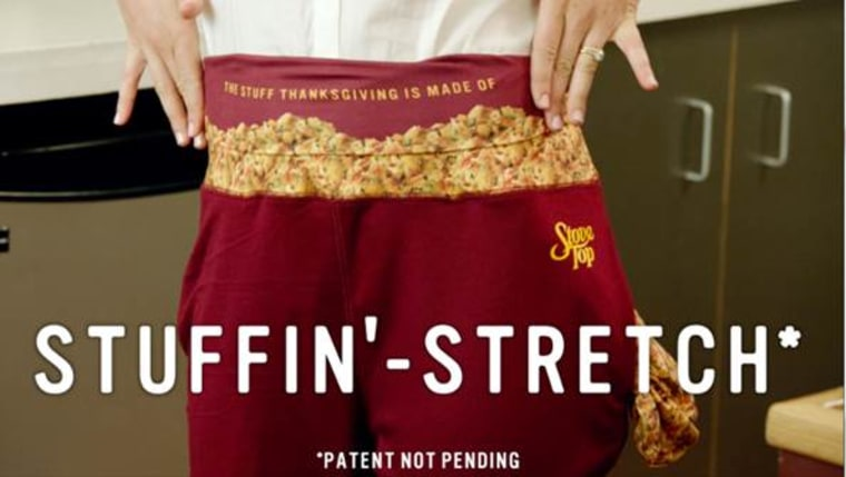 Stove Top Thanksgiving Dinner Pants