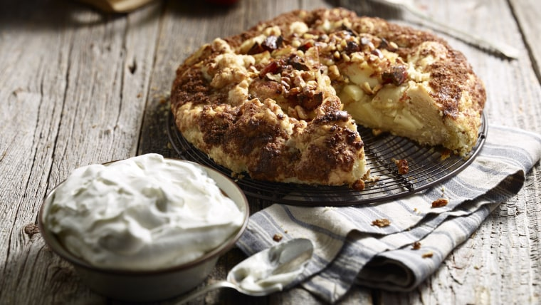 Rustic Date and Apple Tart