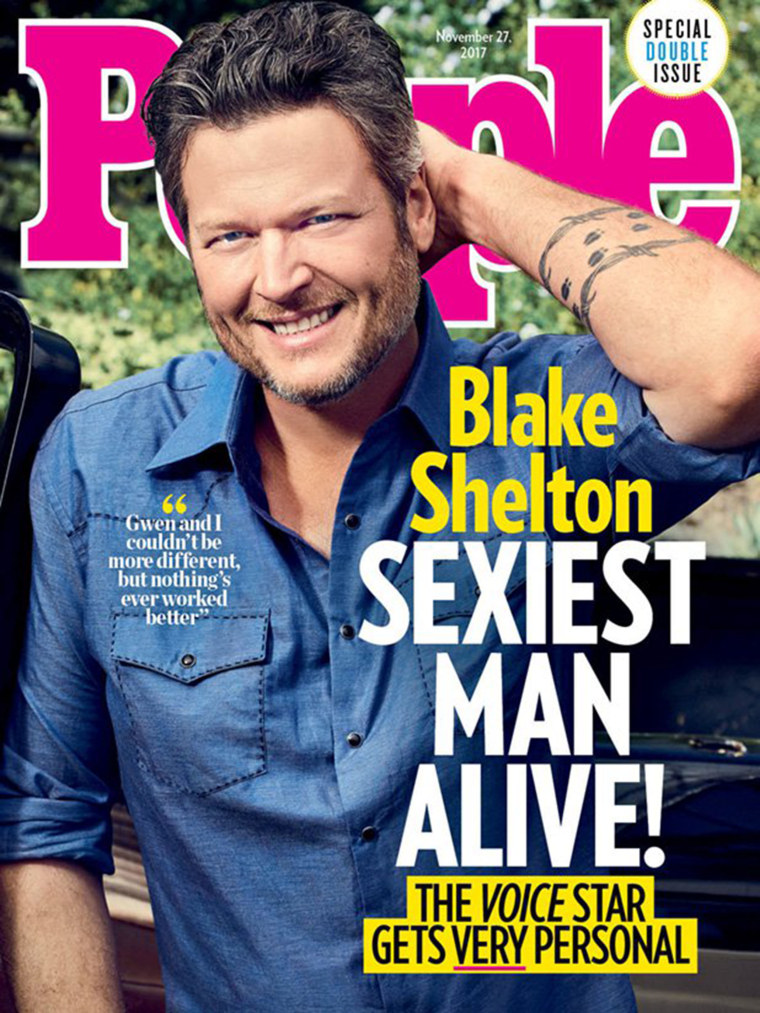 Blake may be on the cover, but the good stuff's inside.
