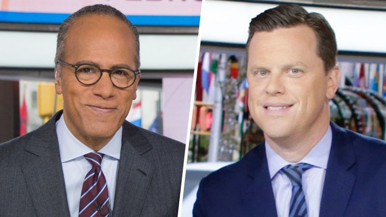 We knew all along that Lester Holt and Willie Geist should be included on that yearly list.