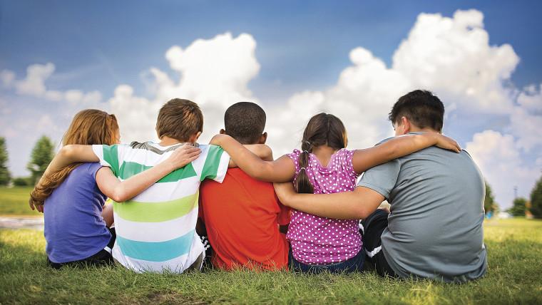 Children at YMCA camp.